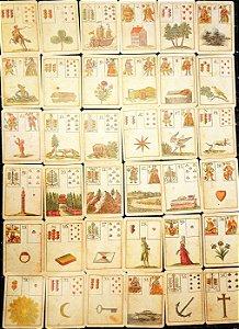 Ur-Lenormand: Das Spiel der Hoffnung (Alemão) Cartas