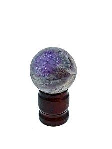 Esfera em Ametista - Qualidade Extra 210 gramas Transformação positiva