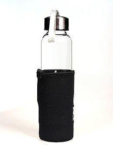 Garrafa para Elixir de Cristal Natural Fume