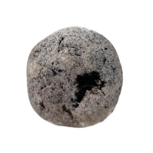 Cristal Quartzo Negro 1 face polida 347gr