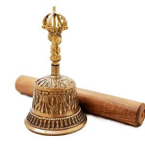 Sino Tibetano em Bronze Maciço