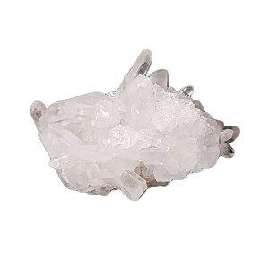 Drusinha em Quartzo Transparente 102gr (8)