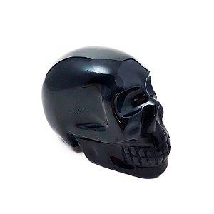 Crânio em Obsidiana Negra 362gr