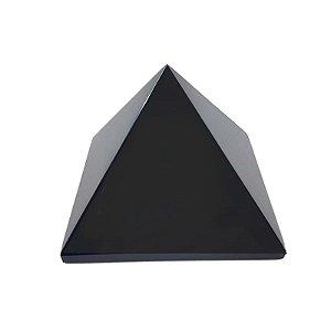 Pirâmide em Obsidiana Negra  552gr