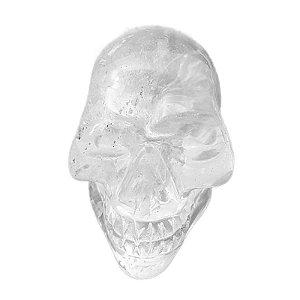 Crânio em Quartzo Transparente 263gr