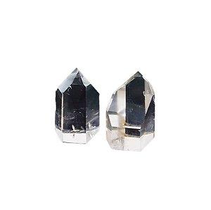 Ponta de Cristal Quartzo Transparente 60gr *preço unitário*