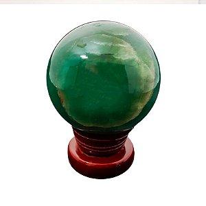Esfera em Quartzo Verde 270gr