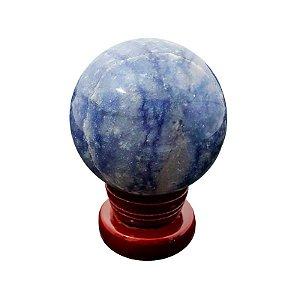 Esfera em Quartzo Azul 250gr