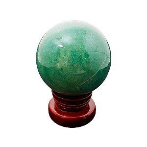 Esfera em Quartzo Verde 539 gramas *qualidade extra*