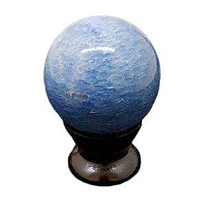 Esfera em Quartzo Azul 156gr a 213 gr