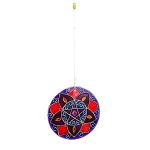 Mandala Flor Pentagrama Mod. 2