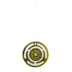 Mandala Roda de Hécate Amarela