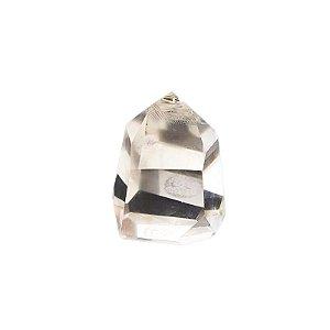 Ponta de Cristal Quartzo Transparente 136gr (11)