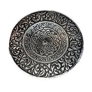 Incensário Tibetano *Banhado a Prata*