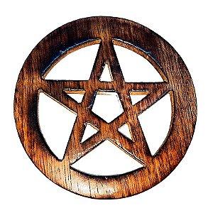 Pentagrama de altar em Madeira