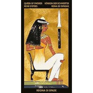 Nefertari´s Tarot - Tarot de Nefertiti (Ouro)