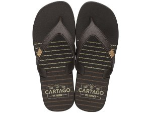 Chinelo Cartago The Journey 10738 37/44  Caixa Com 12 Pares