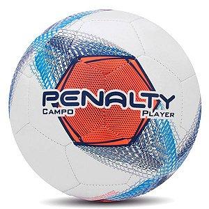 Bola Penalty Player VIII Campo Branca e Azul
