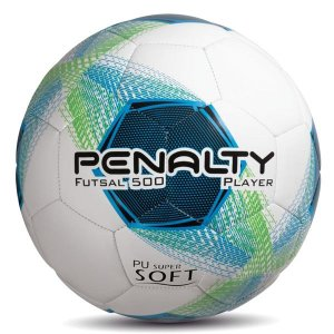 Bola Penalty Player VIII Futsal 500 Branca