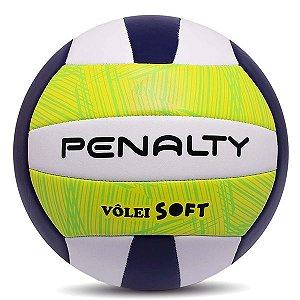 Bola de Vôlei Penalty Soft X Verde e Branca