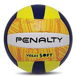 Bola de Vôlei Penalty Voley Soft Verde e Marinho
