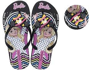 Chinelo Ipanema Barbie 25729 23/34 Caixa com 12 Pares