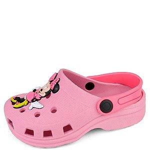 Babuche Pink Minnie 25/32 Caixa Com 12 Pares