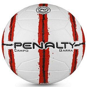 Bola de Campo Penalty Garra XXI - Branco e Vermelho