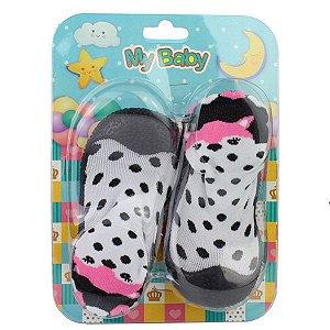 Sapato Meia My Baby 0803.046 18/22 Caixa Com 12 Pares