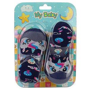 Sapato com Meia My Baby 08.03.196 18/22 Caixa Com 12 Pares
