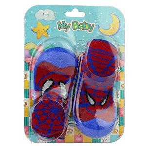 Sapato com Meia My Baby 08.03.250 18/22 Caixa Com 12 Pares
