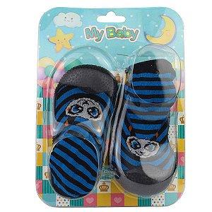 Sapato com Meia My Baby 08.003.216 18/22 Caixa Com 12 Pares