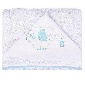 Toalha de banho com capuz safari baby