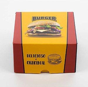 Caixa para Hambúrguer - 100 unidades