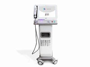 Herus HIFU Fismatek - Ultrassom Microfocado para Lifting não Cirúrgico - 3 cartuchos