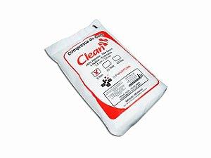 Compressa de Gaze - Não Estéril - 09 Fios - 200g - Clean