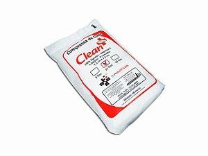 Compressa de Gaze - Não Estéril - 11 Fios - 210g - Clean