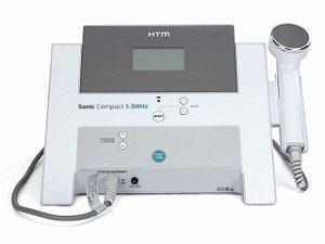Novo Sonic Compact HTM - Aparelho de Ultrassom de 1 e 3 MHz para Estética e Fisioterapia