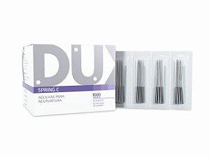 Agulha para Acupuntura Spring C - 0,25x50mm - 1000un - DUX