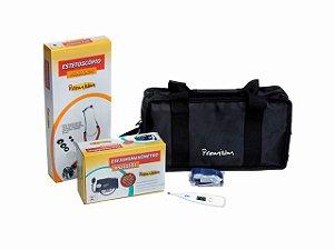 Kit Acadêmico para Enfermagem, Medicina e Fisioterapia - Premium