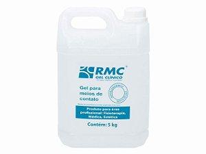 Gel Condutor Incolor - sem Álcool - Galão 5kg - RMC