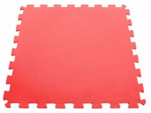 Tatame em EVA com Encaixe - 2x1m - Vermelho - Arktus 30MM