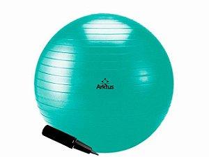 Bola Suíça para Pilates com Bomba de Ar - Anti-Burst - Arktus 55 cm
