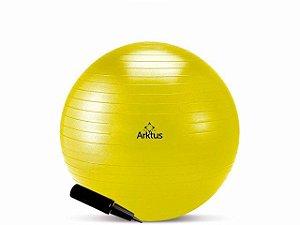 Bola Suíça para Pilates com Bomba de Ar - Anti-Burst - Arktus 45 cm
