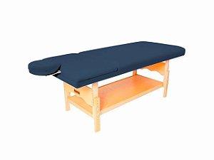 Maca De Massagem Reclinável Com Altura Regulável, Orifício Plêiades - Legno azul marinho