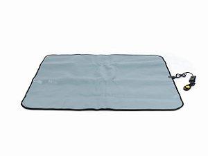 Manta Térmica Termotek - 115x140cm - Prata - Estek 220V