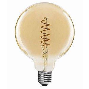 Lâmpada Filamento LED Retrô - G125 SPIRAL - BIVOLT