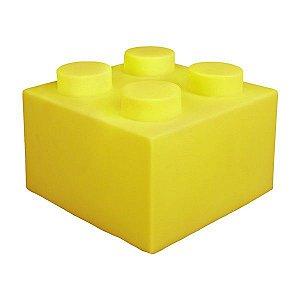 Luminária Bloco - Amarelo