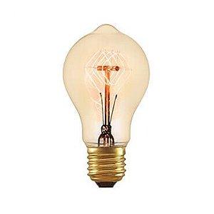 Lâmpada Filamento de Carbono - A19 - 127V