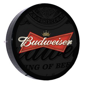 LUMINOSO ESTILO BAR - 24cm - BUDWEISER